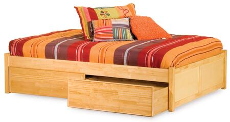 Atlantic Furniture CONFPBLCFL Concord Series  Bed