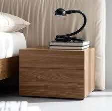 Rossetto T411201000001 Edge Series  Wood Night Stand