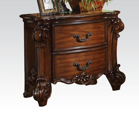 Acme Furniture 22003 Vendome Series Rectangular Wood Night Stand