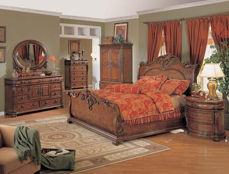 Yuan Tai RC8001K Rockport Series  King Size Sleigh Bed