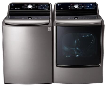 LG 444968 TurboWash Washer and Dryer Combos