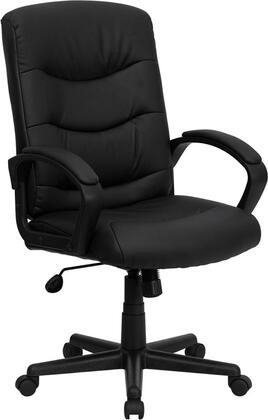 "Flash Furniture GO9771BKLEAGG 26.5"" Contemporary Office Chair"