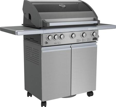 Sole SO5GSS Freestanding Grill, in Stainless Steel