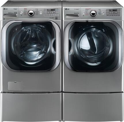 LG LG4PCFL29SSG2PEDKIT1 Washer and Dryer Combos