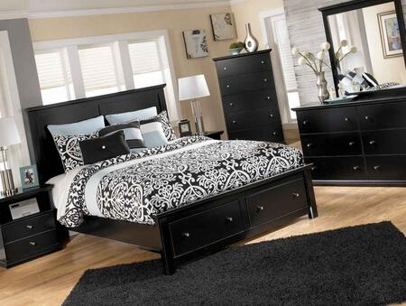 Signature Design by Ashley B13856S5895B10014 Maribel Series  Storage Bed