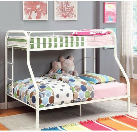 Furniture of America CMBK1033WHBED Rainbow Series  Bed