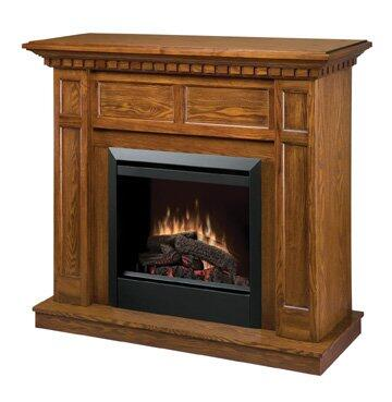 """Dimplex DFP4743 Caprice Collection Electric Fireplace, 23"""" Firebox with on/off Remote Control:"""