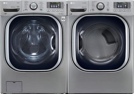 LG WM4370HVAGDPAIR2 Washer and Dryer Combos