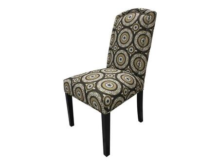 Stein World 12140 Armless Fabric Wood Frame Accent Chair