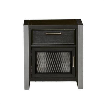 Samuel Lawrence 8942450 Graphite Series Rectangular Wood Night Stand