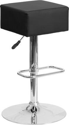Flash Furniture CH820584BKGG Residential Vinyl Upholstered Bar Stool