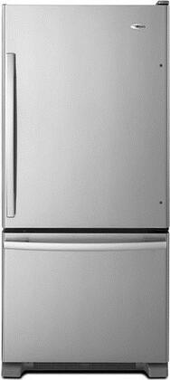 "Amana ABB1924BRM 29.63""  Stainless Steel Bottom Freezer Refrigerator with 18.7 cu. ft. Capacity"