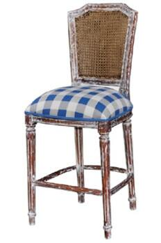 Bramble 25432 Nantucket Series Residential Fabric Upholstered Bar Stool