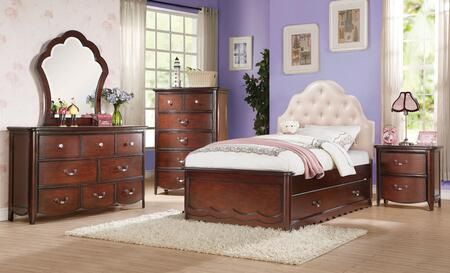 Acme Furniture 30265F6PC Cecilie Full Bedroom Sets