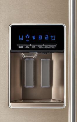 Whirlpool Wrsa71cihn Sunset Bronze Series 36 Inch Counter
