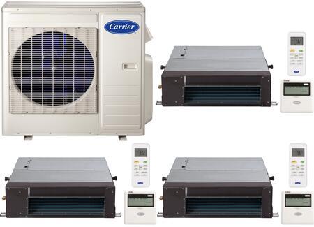 Carrier 700798 Performance Triple-Zone Mini Split Air Condit
