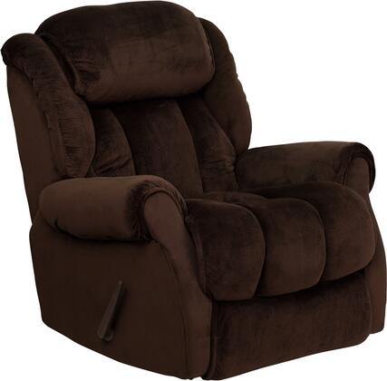 Flash Furniture AM96502051GG Contemporary Champion Series Contemporary Microfiber Wood Frame  Recliners
