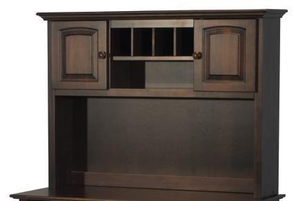 Atlantic Furniture WINDSORHUTCHLC Windsor Series  Desk