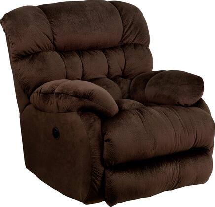 Flash Furniture AM-P9460-XX-GG Contemporary Sharpei Microfiber Power Recliner with Push Button