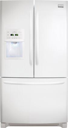 Frigidaire FGUB2642LP Gallery Series  French Door Refrigerator with 25.8 cu. ft. Total Capacity 4 Glass Shelves with Door Lock