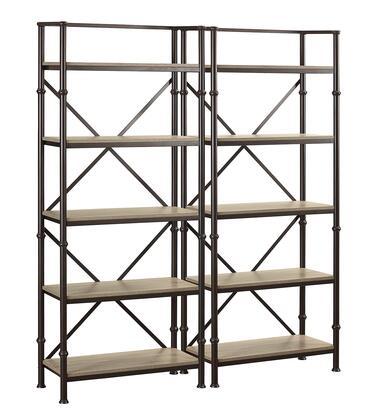 Turnkey Products LBDURKBS72X2 Durham Bookcases