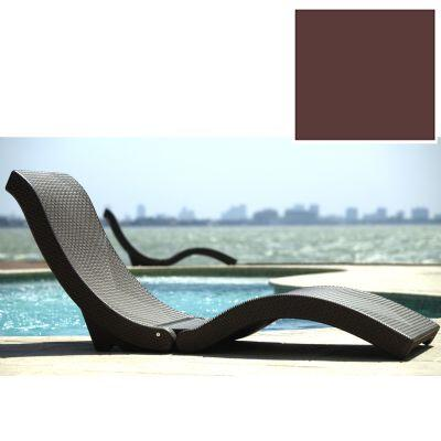 Infinita 814495011737 Le Click Series Transitional Not Upholstered Chaise Lounge