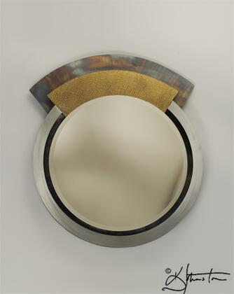 Nova 3710129 Focus II Series Round Portrait Wall Mirror