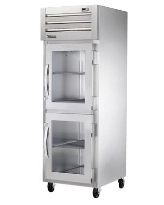 True STA1F-2 Spec Series Reach-In Freezer with XX Cu. Ft. Capacity, LED Lighting, and Half Swing-Doors