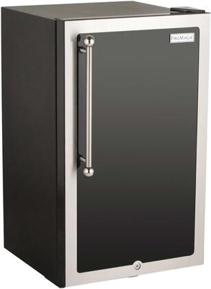 FireMagic 3590HDx Echelon Black Diamond Series Outdoor Compact Refrigerator, in Black