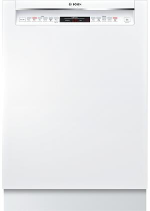 "Bosch SHEM78W5XN 24"" 800 Series Recessed Handle Dishwasher with 16 Place Settings, 3rd Rack, 42 dBA, 6 Wash Cycles, 5 Wash Options, and Touch Control Technology, in"