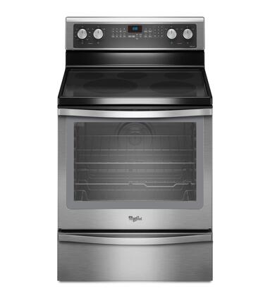 "Whirlpool WFE720H0AS 30"" Electric Freestanding Range 