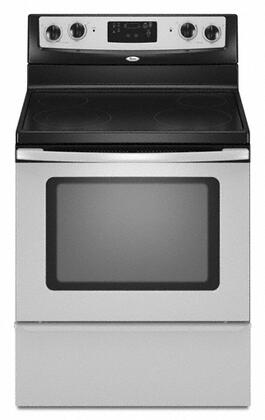 Whirlpool WFE361LVS  Electric Freestanding Range with Smoothtop Cooktop, 4.8 cu. ft. Primary Oven Capacity, Storage in Stainless Steel