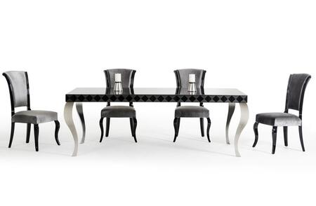 Vig furniture vgdvls208blkch versus mia dining room sets for Dining room furniture 0 finance