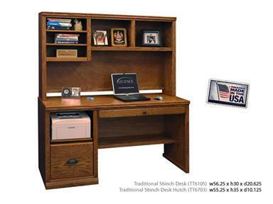Legends Furniture TT6104GDOPACKAGE Traditional Desks
