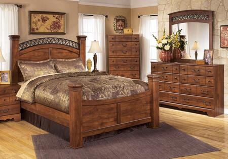 Signature Design by Ashley B258QPBDM Timberline Queen Bedroo