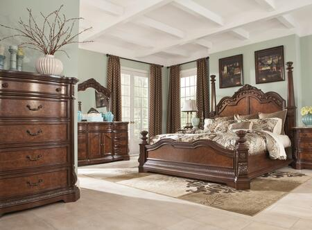 Milo Italia BR790KPSBDMC Mcgrath King Bedroom Sets