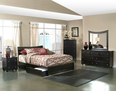 Atlantic Furniture SOHFPESFL  Full Size Bed
