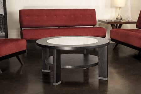 Armen Living LC6205RDCOBL Espresso Modern Table