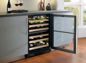 "Marvel 6SDZEBBGL 23.875"" Built-In Wine Cooler"