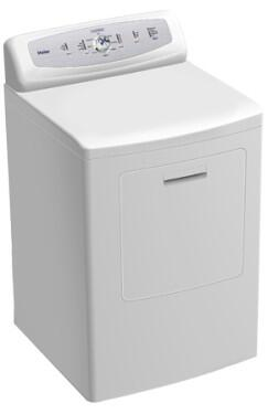 Haier GDE750AW  Electric Dryer, in White
