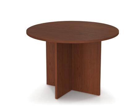 "Bestar Furniture 65770 BESTAR 42"" round meeting table with 1"" melamine top"