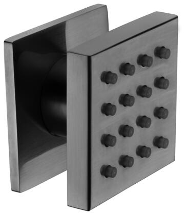 Alfi AB4501-XX Modern Square Adjustable Shower Body Spray with Brass, Spray Face and Certified by cUPC in