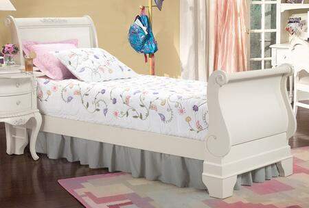 American Woodcrafters 1030033SLE  Twin Size Sleigh Bed