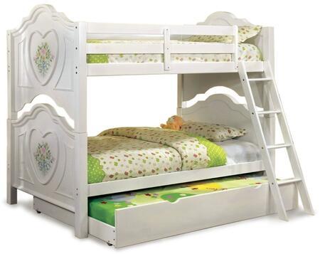 Furniture of America CMBK119BEDT Isabella III Twin Bedroom S