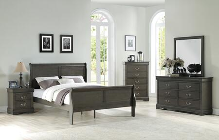 Acme Furniture Louis Philippe Bedroom Set ...