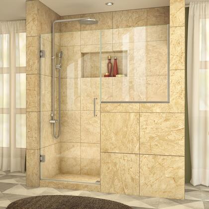 UnidoorPlus Shower Door 39 30D 30BP 04