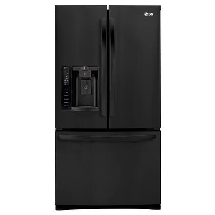 "LG LFX28968SB 36"" 27 Cu. Ft. Capacity Freestanding 3 Door French Door Refrigerator With Smart Cooling, Slim SpacePlus Ice System, Smart Cooling System:"