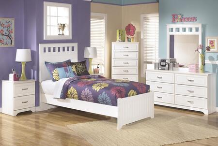 Milo Italia BR174TPBDMN Dayanara Twin Bedroom Sets