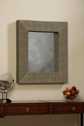 AMIT MIR026RECT 1 MENDONG NATURAL WITH BLACK THREAD RECTANGLE MIRROR LIFESTYLE