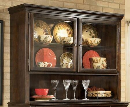 Signature Design by Ashley D48081 Hayley Series Dining Room with 2 Shelves